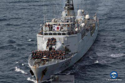 Relais français en Méditerranée