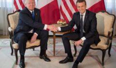 Poignée de main : défi relevé pour Macron