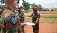 Premier bataillon formé en Centrafrique pour EUTM RCA