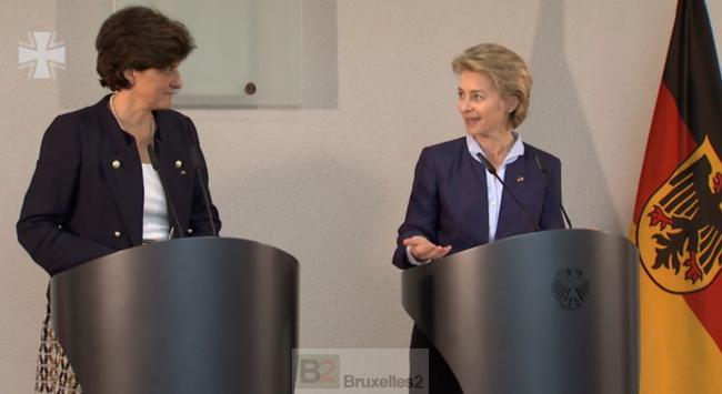 Sylvie et Ursula à Berlin parlent la même langue. Reste à trouver le projet