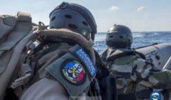 Nouvelle saisie d'armes au large de la Libye. Le Commandant Blaison en action (V2)