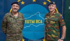 Le général García Blázquez prend le commandement d'EUTM RCA