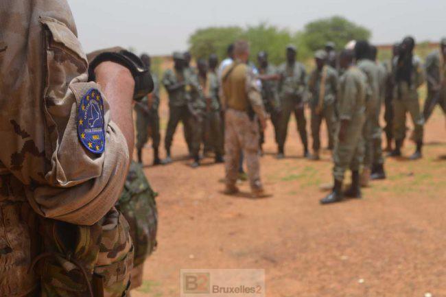 EUTM Mali forme les effectifs maliens à Gao