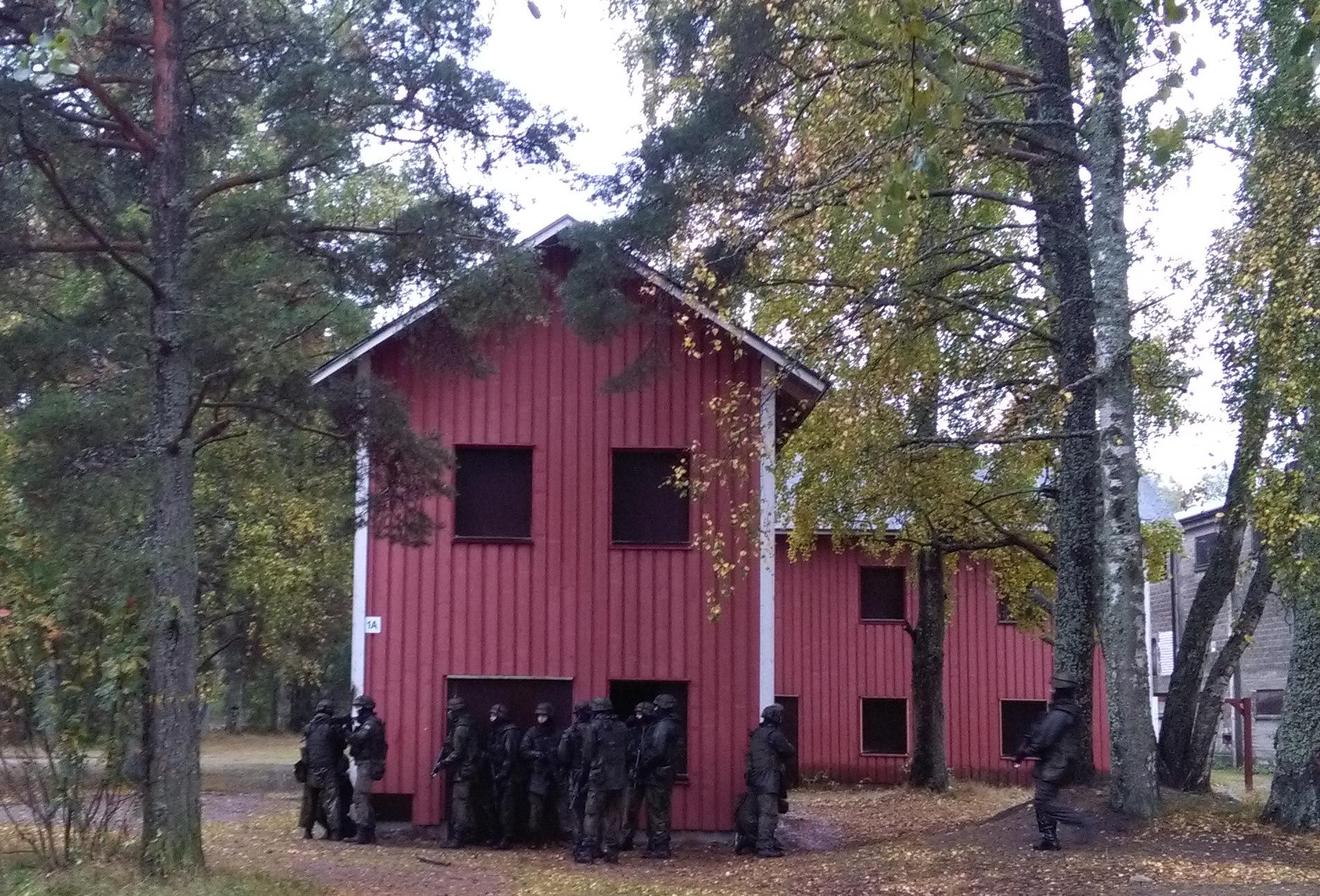 entre russie et finlande