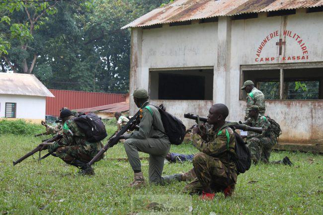 Reportage à Bangui. 1. Au camp Kassaï, la formation des FACA avance à bon rythme