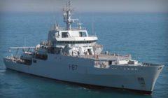 Le HMS Echo revient dans l'opération Sophia