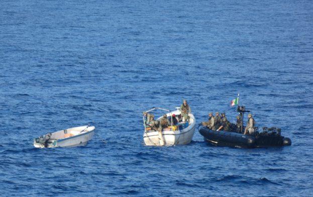 Six pirates arrêtés dans le bassin somalien, entre Seychelles et Somalie (V5)