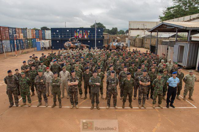 Reportage à Bangui, EUTM RCA et MINUSCA pour stabiliser un pays