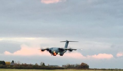 Le 12e A400M français arrivé