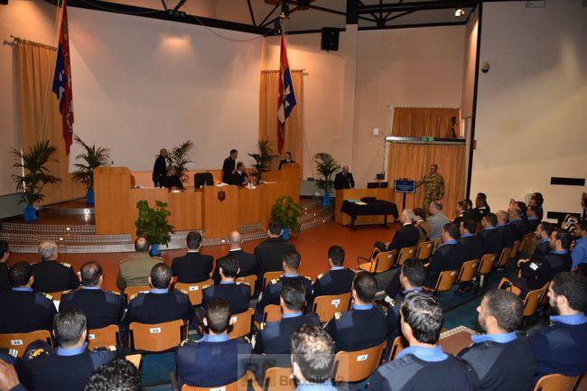 Fin de formation pour les garde-côtes libyens