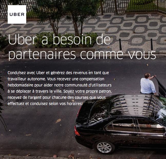 Uber devra se plier aux mêmes règles européennes que les taxis
