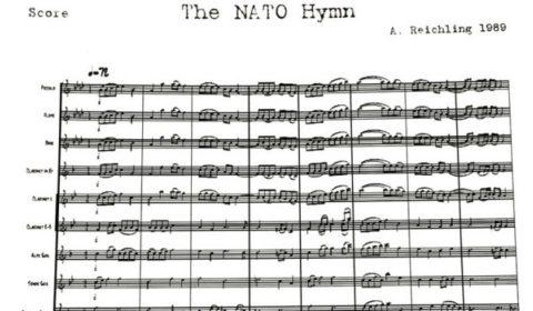 L'OTAN a désormais un hymne officiel. Ecoutez, chantez…