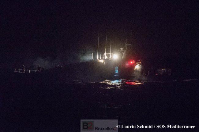 Nouvel incident avec les garde-côtes libyens (V2)
