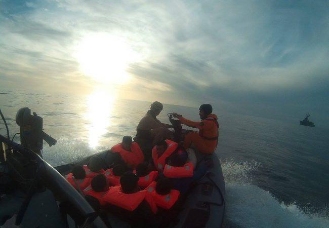Plus de 300 migrants récupérés au large des côtes libyennes par EUNAVFOR Med ces trois derniers jours