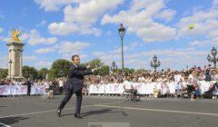 Le président Macron, le SpitzenKandidat et le Parlement européen