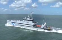 Choc entre un patrouilleur turque et un patrouilleur grec en mer Egée (V3)