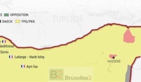 La présence des forces spéciales françaises en Syrie révélée par les Turcs