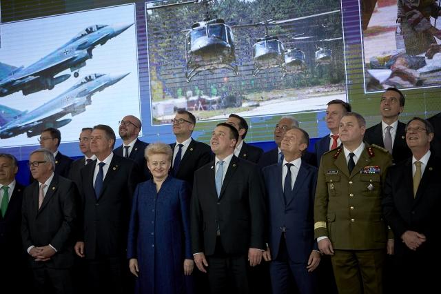 N°58. L'Union européenne de défense alias la Coopération structurée permanente