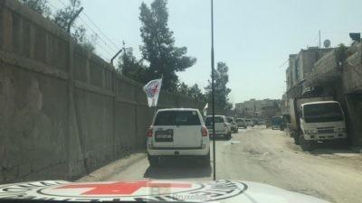 Un premier convoi de secours pour la Ghouta orientale… Ce n'est pas suffisant dit le CICR