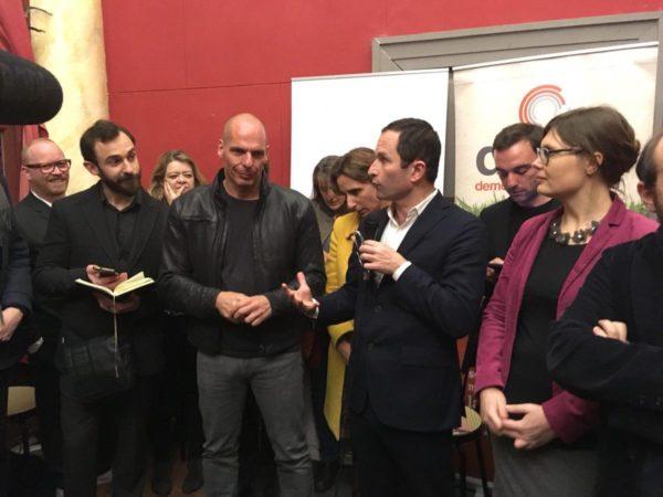 Elections 2019. Hamon, Varoufakis lancent la première liste transnationale