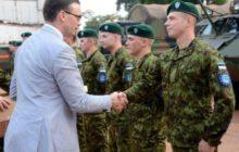 Des Estoniens en soutien aux Français de Barkhane à Gao