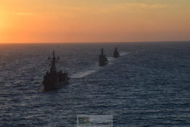 En Méditerranée, Sophia (UE) et Sea Guardian (OTAN) se parlent