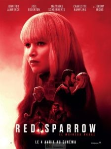 Red Sparrow, le moineau russe passe à l'action