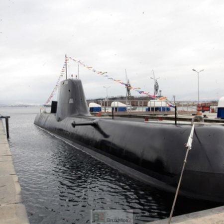 Un sous marin grec dans Sophia