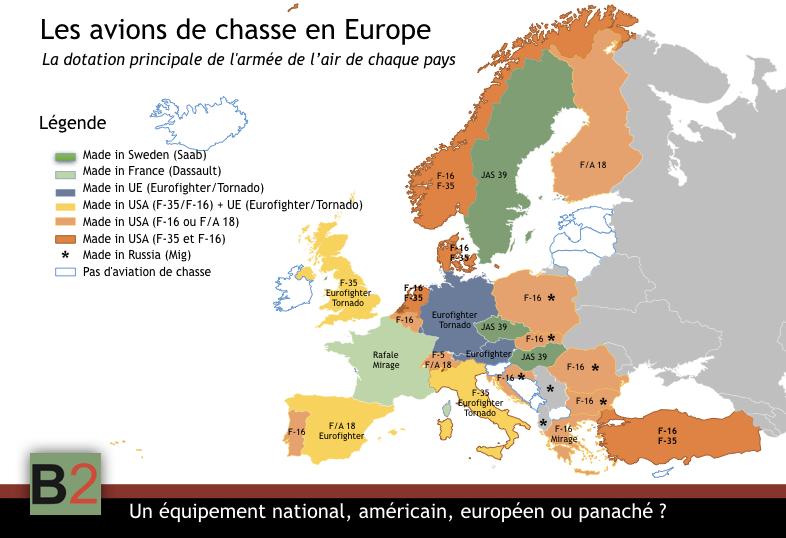 Avions de chasse. Les Européens adorent acheter américain. Pourquoi ?