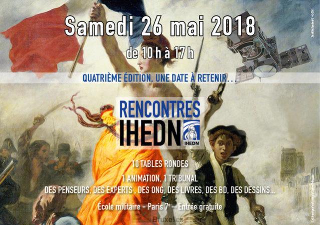 Les rencontres de l'IHEDN c'est le 26 mai