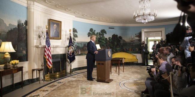 La décision de Donald Trump sur l'Iran, un vrai pari. Un défi aux Européens aussi !