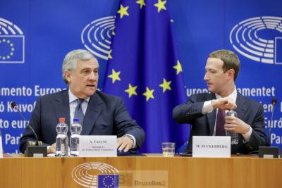 Zuckerberg au Parlement européen : déception et frustration. Le mea culpa ne suffit plus