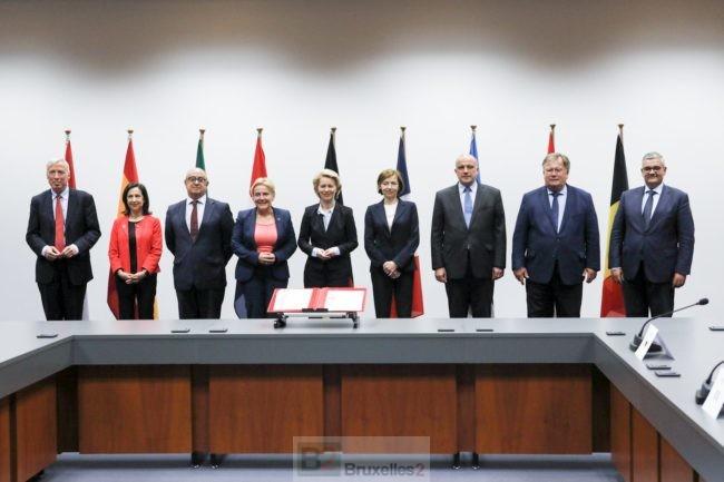 Huit pays adhèrent à l'initiative européenne d'intervention d'E. Macron. La lettre d'intention signée