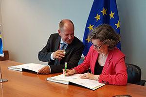 Un nouvel entrepôt pour les missions de gestion de crises de l'UE. C'est signé
