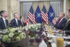 Sommet de l'OTAN : Trump, ses diatribes, ses tweets (V3)