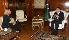 Federica Mogherini en visite à Tripoli. Une coopération ++ avec la Libye
