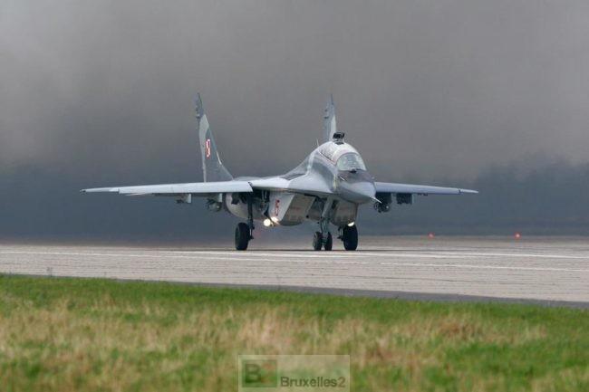 Après le crash d'un Mig 29 de Malbork, tous les vols suspendus en Pologne