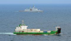 Un navire de l'Amisom attaqué près du port de Baraawe