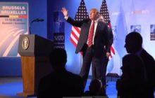 (B2 Pro) Trump secoue l'Alliance. Une fêlure sérieuse, mais la cassure est évitée