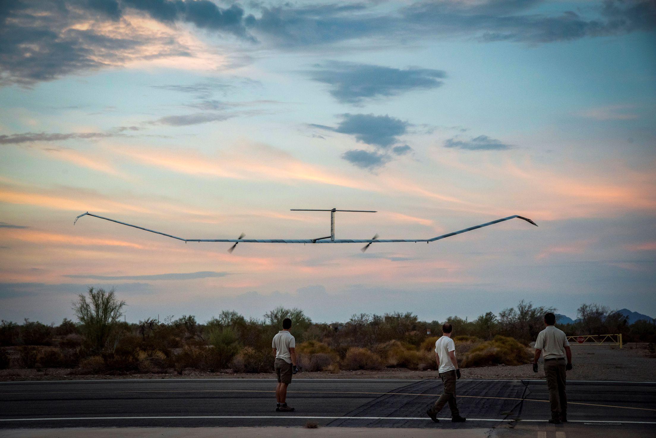 Essai réussi pour le drone solaire Zéphyr