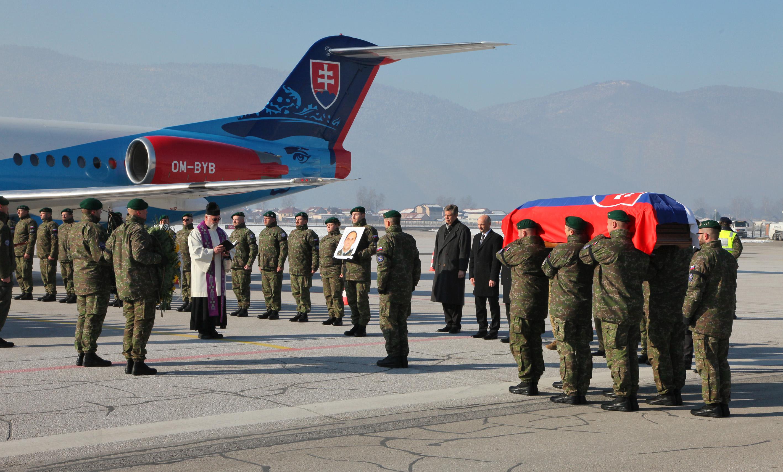 Un militaire slovaque décédé à EUFOR Althea
