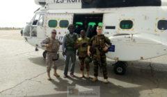 Des infirmeries dans trois garnisons maliennes construites avec les fonds européens. Premiers pas de la CBSD