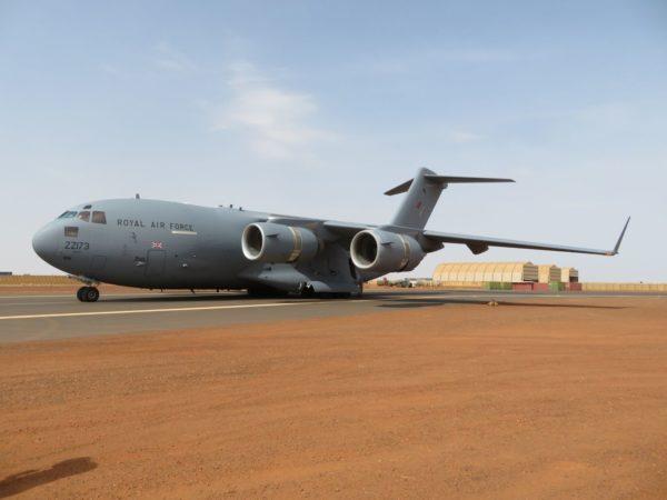 Mali. Un C-17 commence des rotations mensuelles