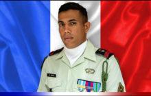 Décès accidentel d'un militaire de Barkahne
