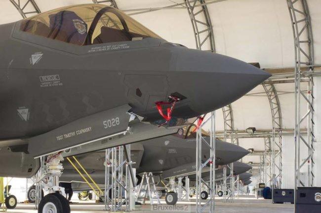 La Belgique préfère le F-35 américain à ses concurrents européens. Un coup de pied à l'Europe de la défense ?