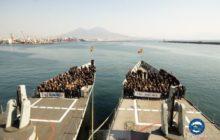 Relais de marine espagnole dans l'opération Sophia