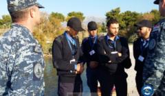 Cours de plongée pour cinq garde-côtes libyens en Croatie
