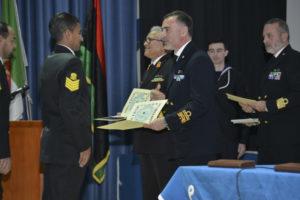 Une formation des garde-côtes libyens se termine à La Maddalena