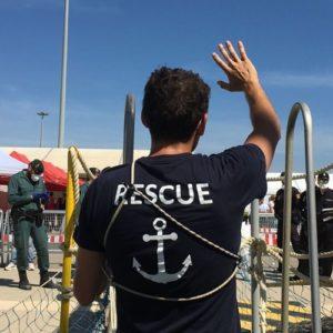 L'Aquarius jette l'ancre définitivement, pas SOS Méditerranée