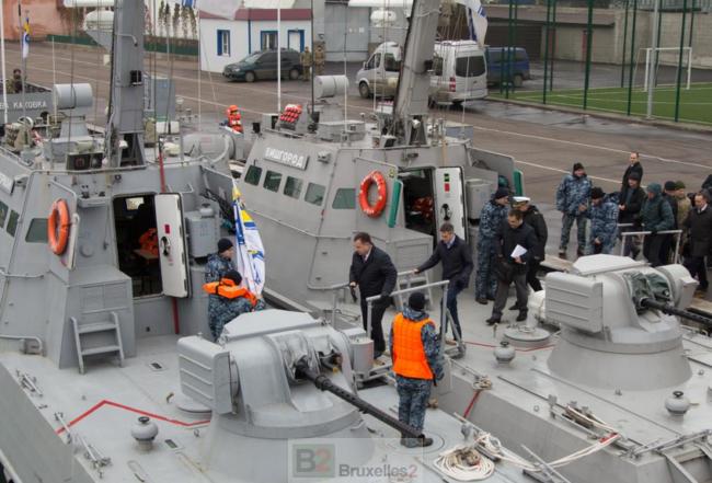 Londres réaffirme son soutien à l'Ukraine. Gavin Williamson à Odessa